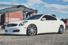 Infiniti G35 Coupe My Pas Have This In Black But I Really Like The White