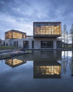 Gallery of Jingjiang Folklore Museum / Zhaohui Rong Studio - 19 Office Building Architecture, Chinese Architecture, Facade Architecture, Amazing Architecture, Commercial Architecture, Interior Design Images, Modern Exterior, Studio, Folklore