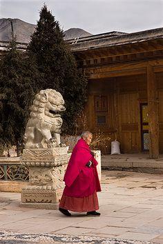 Xiahe Monastery  Tibet