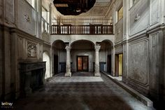 urban decay abandoned mansions | ... abandoned places, urban exploration: Villa Spencer, abandoned hotel
