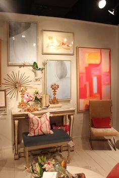 Gallery wall in Design Legacy #hpmkt #designlegacy #shopcandelabra