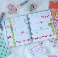 """Next week's layout of my @erincondren Life Planner is complete! Now I just need to fill in some of the details with color-coordinating pens. I used a…"""