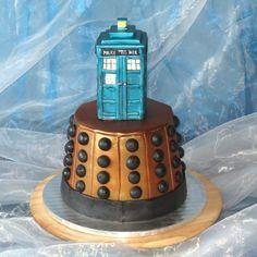 Cake Doctor Who Cake by kralovnicky