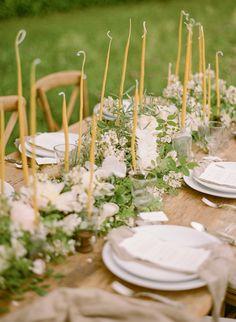 delicate wildflower wedding ideas | via: once wed