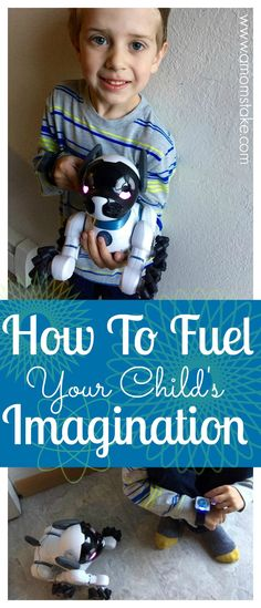 Your child's imagination is one of their most powerful tools, learn how to fuel it so their imagination continues to grow. #powerimagination #IC #ad