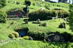 NUEVA ZELANDA: HOBBITON MOVIE SET
