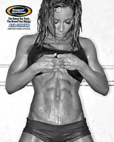 Ava Cowan has the most incredible abs i have EVER seen on a female. IFBB pro figure models have THE BEST bodies. Lean/muscular bodies are WAY sexier than skinny toneless women.. just saying ;)