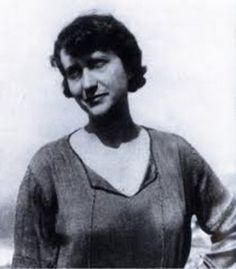 The folklorist Angeliki Hatzimichali in the early 1920s