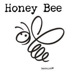 Bee Outline, Bee Silhouette, Bee On Flower, Bee Cards, Bee Tattoo, Quilt Labels, Bee Design, Bee Theme, Bee Happy