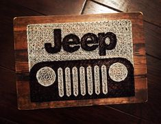 Jeep String Art Wrangler by StringsAttachedKY on Etsy