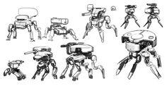 로봇 메카닉 그림자료 모음 : 네이버 블로그