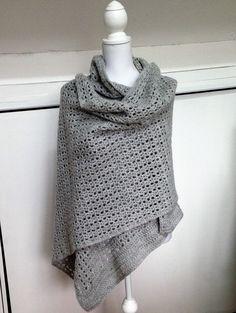 Ideas Crochet Summer Wrap Pattern Yarns For 2019 Crochet Shawls And Wraps, Knitted Shawls, Crochet Scarves, Crochet Yarn, Crochet Clothes, Crochet Sweaters, Crochet Blouse, Free Crochet, Shawl Patterns