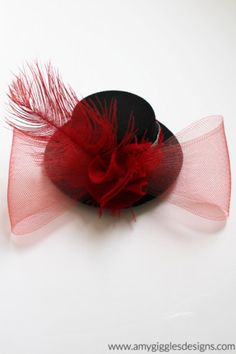 Mini Dance Costume Hats