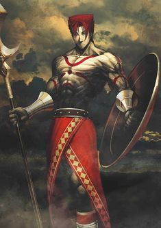 Leonidas I Stage 03 Fate Archer, Avenger, Moon Princess, Fate Anime Series, Fate Stay Night, Cultura Pop, Spiderman, Character Design, Drawings