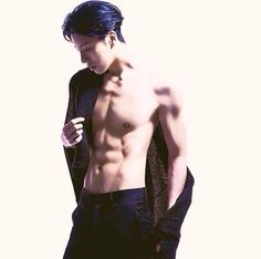 No Min Woo #abs