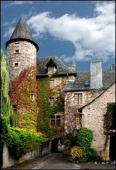 Oh, France, darling, you are tres belle! Ste Eulalie-d'Olt, France