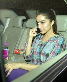 Shraddha Kapoor at NH10 screening. #Bollywood #Fashion #Style #Beauty
