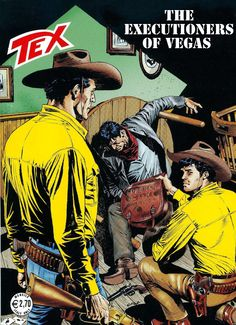 Tex Willer - 601 - The Executioners of Vegas