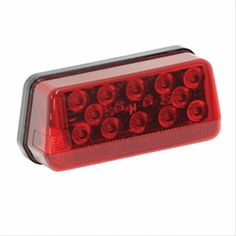 Wesbar 281595 Left Hand LED Wrap Around Trailer Tail Light Waterproof