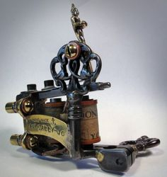 Cally Jo's beautiful tattoo machine from and by Tim Hendricks #tattoo #machine