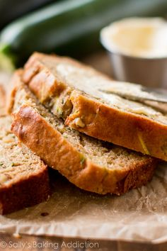 Easy, healthy, and wholesome Greek yogurt zucchini bread will be your new favorite recipe for this classic quick bread!