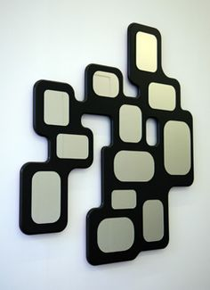 This also has individual mirrors on it but gives also the feeling of being a puzzle