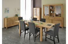 RoomSmart's quality European furniture features innovative small space design, eco-friendly materials, and elegant contemporary styles. Oak Dining Table, Dining Chair Set, Small Space Design, Small Spaces, Modern Tv Wall Units, European Furniture, Stylish Bedroom, Entertainment Room, Upholstered Dining Chairs