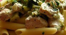 Tento recept som našla na stránke časopisu Dobré jedlo . Keďže som doma mala brokolicu, tak som sa rozhodla spraviť komplet brokolicové menu... Potato Salad, Food And Drink, Potatoes, Meat, Chicken, Ethnic Recipes, Potato, Cubs