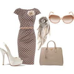 Brown and Nude, created by paul-n-michelle on Polyvore