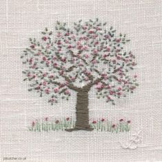 Apple Blossom Embroidery
