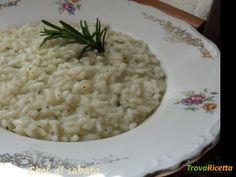 Risotto al rosmarino #ricette #food #recipes