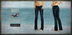my favorite jeans!!! but they changed their looks! lame!