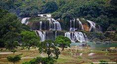 Ban Gioc waterfall // Vietnam