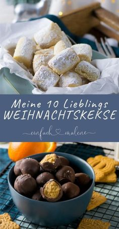 Es gibt so viele tolle Rezepte, aber diese To… No Christmas without these cookies! There are so many great recipes, but these top 10 recipes must not be missing in any year! Everyone loves these Christmas biscuits Easy Cookie Recipes, Great Recipes, Cake Recipes, Dessert Recipes, Christmas Biscuits, Christmas Baking, Christmas Cookies, Christmas Christmas, Cookies Et Biscuits