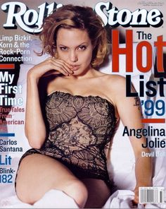Rolling Stone Cover - Angelina Jolie