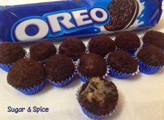 Oreo Gourmet Brigadeiro Rezept Ana Maria Brogui Ideas (i will organize this once school is over) Köstliche Desserts, Delicious Desserts, Yummy Food, Sweet Recipes, Cake Recipes, Dessert Recipes, Oreos, Sugar And Spice, I Love Food