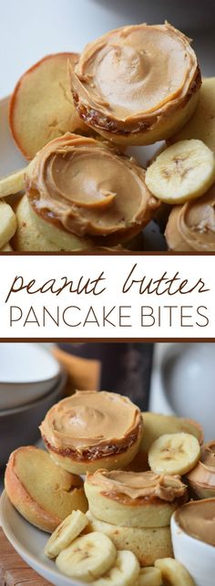 Fluffy, light pancakes bursting with peanut butter flavor and a history lesson to boot. Whip up a batch of Rosa Parkss Peanut Butter Pancakes this weekend! Brunch Recipes, Breakfast Recipes, Brunch Foods, Peanut Butter Pancakes, Pancake Bites, Good Food, Yummy Food, What's For Breakfast, Pinterest Recipes