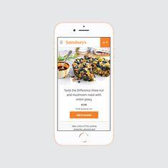 Sainsbury's Select responsive e-commerce site