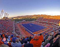 Boise State University's Blue Football Field and Champion Bronco Team Google Image Result for http://www.sportsposterwarehouse.com/catImages/boisestatepf-1.jpg