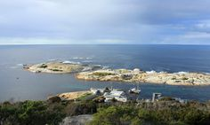 Whalers Lookout at to Governor Islands Bicheno Tasmania