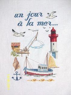 Bateau - Bouée - Mouette - Phare - les Ptites Croix de CC