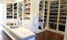Inside Newest Housewife Yolanda Ginormous Walk Closet - House Plans | #76168