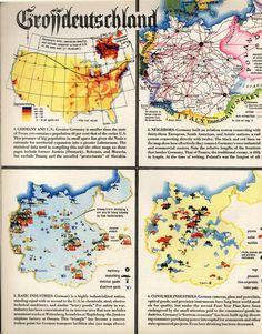 infographics on Germany, 1939