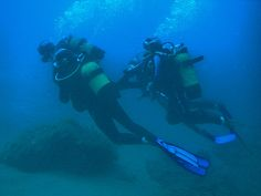Diving in Mediterranean Sea