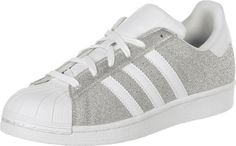 Stylefile - Adidas superstar silver et blanc - taille 37 1/3 - 90€