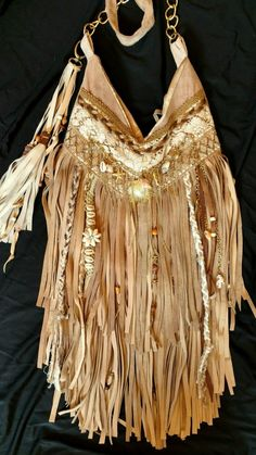 Final Payment Custom for Karley Tan Suede Fringe Hippie Bag Boho Purse Tmyers | eBay