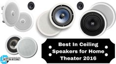 The Best In Ceiling Speakers for Home Theater provide a high-quality stereo sound without occupying too much floor space of your home or office. Best Home Theater System, Home Theater Setup, Home Theater Speakers, Home Theater Design, Home Theater Seating, Tea Light Candles, Tea Lights, Inexpensive Flooring, Ceiling Speakers
