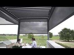Grupo Eiriz, Pérgola Bioclimática Brustor B-600, modelo retráctil. - YouTube Chill, Luz Led, Outdoor Living, Outdoor Decor, Youtube, Porch, Garages, David, Ideas