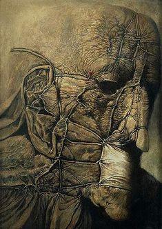 Zdzisław Beksiński , DmochowskiGallery.net - Galerie - Saal 10. Gemälde. Die Jahre 1968-1983 -