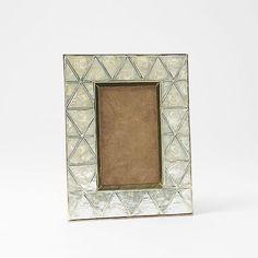 Capiz Frames | West Elm $27.99